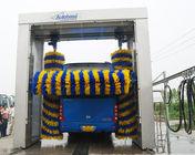 Rollver bus wash machine